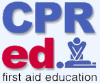 CPR ED First Aid Education Logo