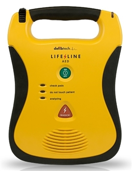 High-end CPR Supplies Defibtech Lifeline AED Unit